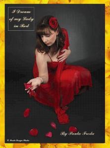 lady in red - copyright Thomas M. Freda - novella by Paula Freda